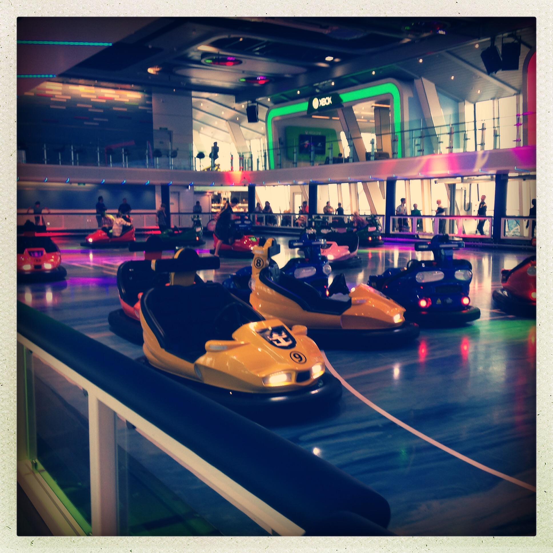 Anthem of the Seas dodgems